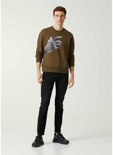Neil Barrett Neil Barrett  Baskılı Sweatshirt 101633710 Gri